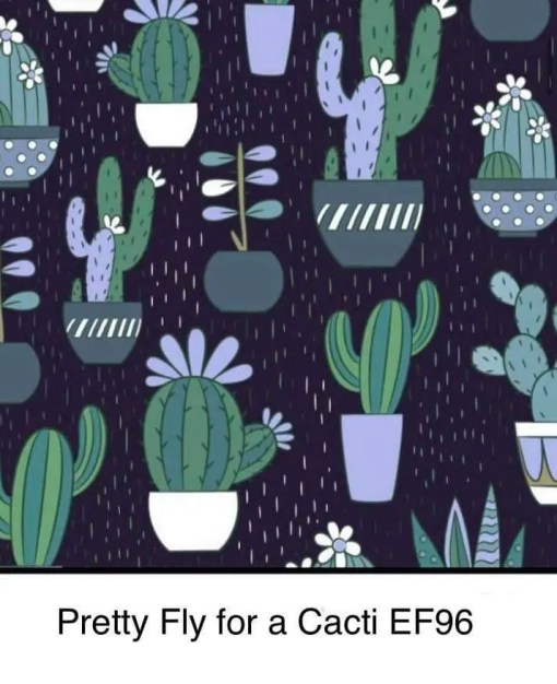Bells Bumz Pretty Fly For A Cacti BTP nappy print