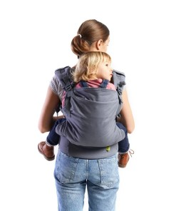 Boba X - back carry with a toddler