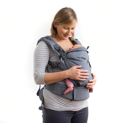 Boba X - front carry with a newborn