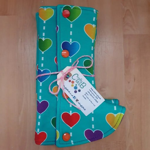 Rainbow hearts suck pads