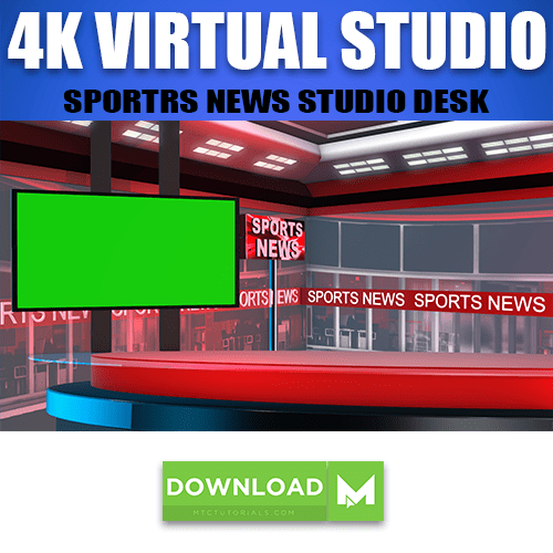 Download News Studio Desk TV Set, Sports News, Urdu News, Hindi News