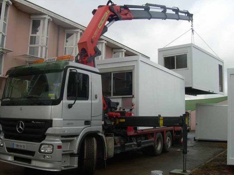 Transport Construction Modulaire Prefabrique
