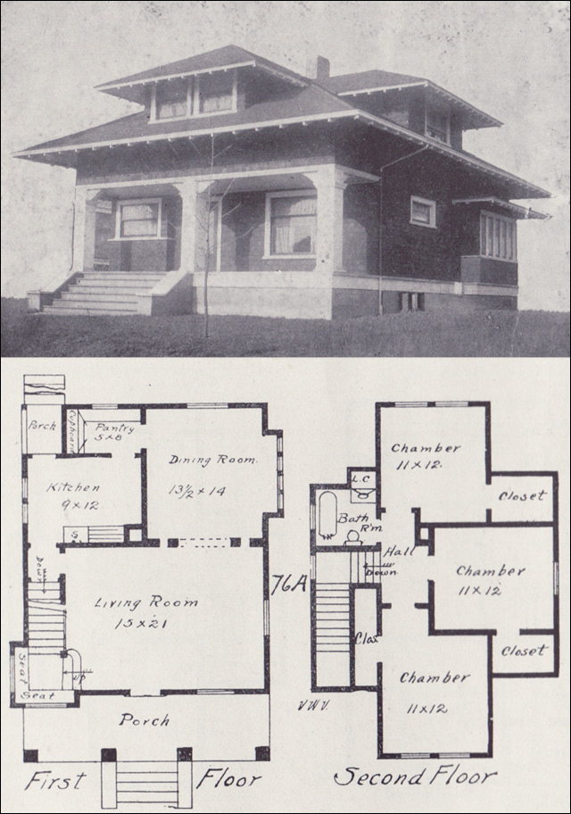 Craftsman Farmhouse Plans