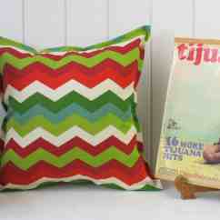 Santa Chair Covers Australia All Weather Outdoor Rocking Chairs Fe Chevron Indoor Cushion Cover