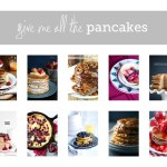 All I want to eat is pancakes.