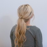 Knotted Ponytail: Hair Tutorial