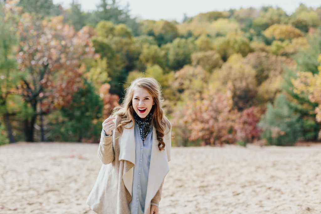 duck boots, layering for fall, neck scarf