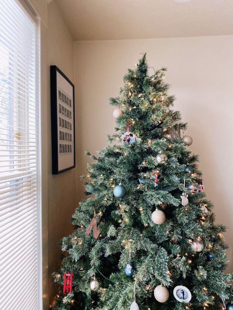 Our Apartment Christmas Decor Bungalows & Olives