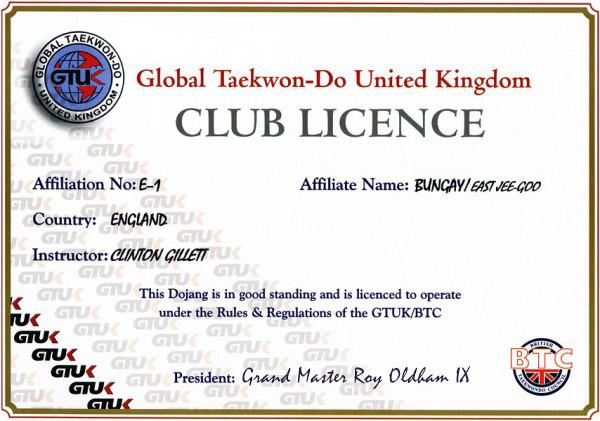 Bungay-club-licence