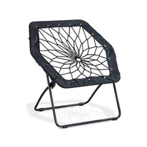 brookstone bungee chair upholstered swivel chairs with arms room essentials review