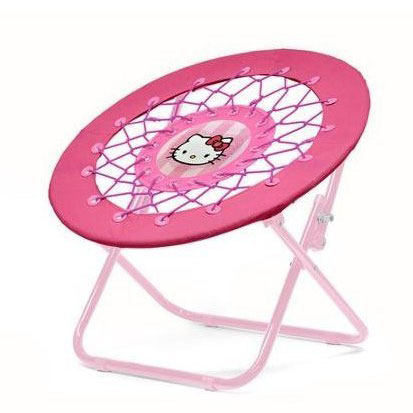 bungee chair weight limit salon accessories the best pink chairs sanrio hello kitty