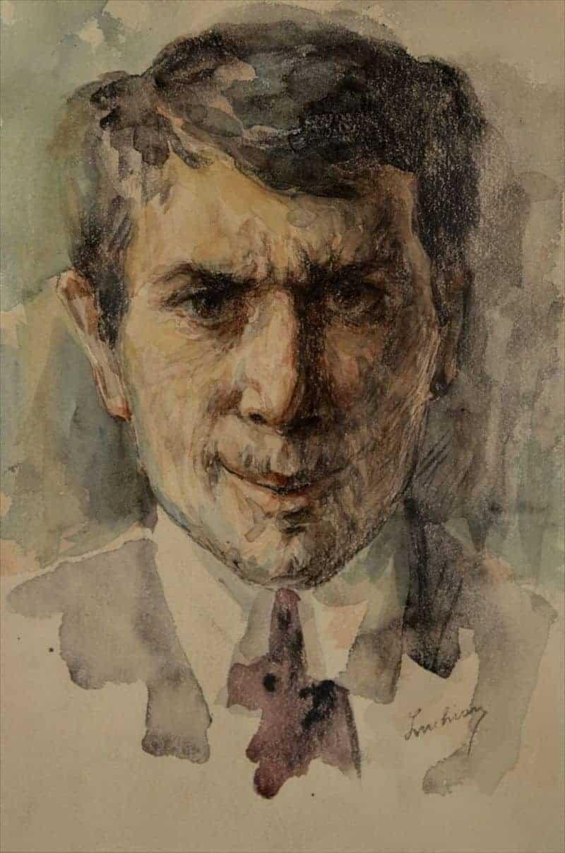 Autoportret, 1900