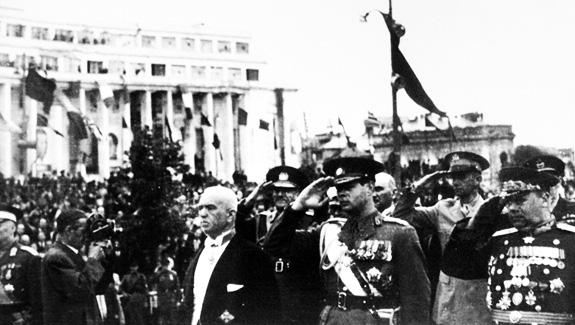 1944a România A Ieșit Din Alianța Cu Puterile Axei