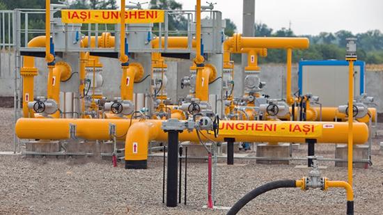 2014 Gazoductul Iaşi-ungheni