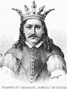 1369 Vlaicu-vodă. Desen Semnat M.d. Secăreanu