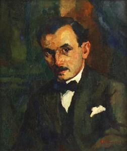 Portrait of sculptor Mihail Onofrei