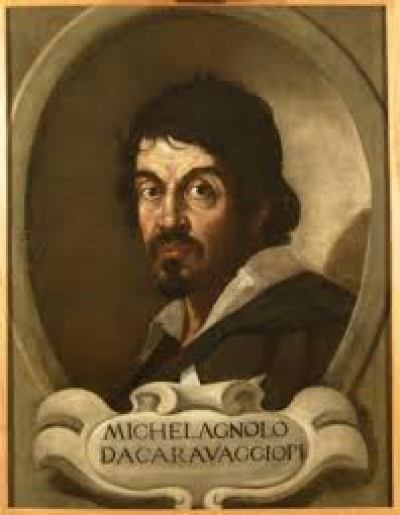 Caravaggio Self Portait