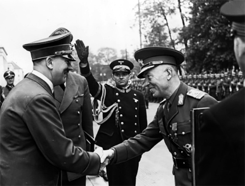 1941 Întâlnire Hitler–Antonescu la Munchen