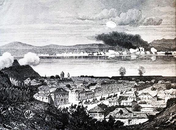 1877 Duel de artilerie între bateriile române și otomane, Calafat-Vidin, 1877