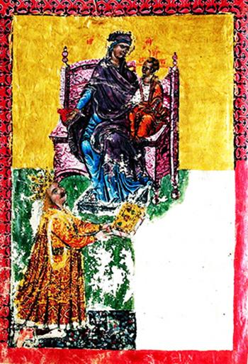 1473 Miniatura lui Ștefan cel Mare