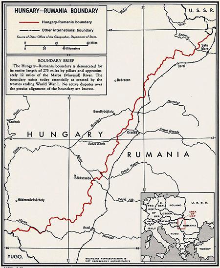 Granița Ungaria-România (1920)