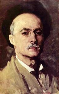 1907b Nicolae Grigorescu - Ultimul Autoportret