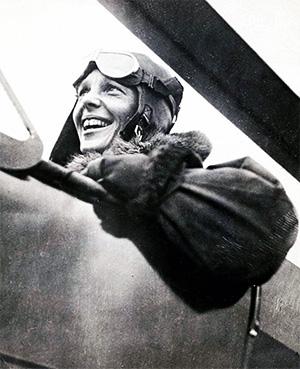 Amelia Earhart (1) -young
