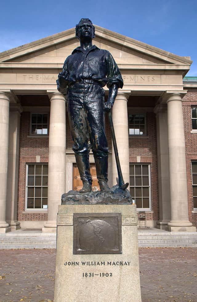 Statue of John William Mackay, 1908