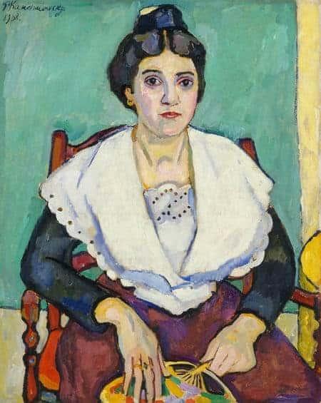 Pyotr-Konchalovsky - Young-girl-from-Arles-1908