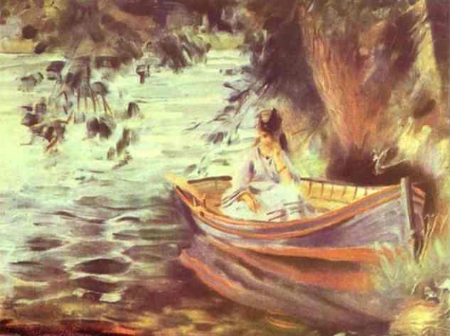 Renoir - Woman-in-a-Boat