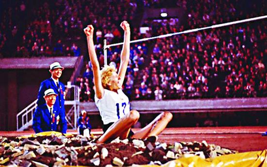 1960 Iolanda Balaș A Sărit 1,85 Metri