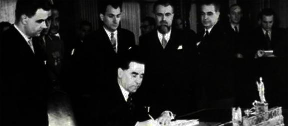 1944 Semnarea Convenției De Armistițiu