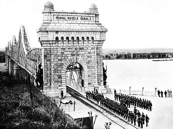 1895 Inaugurarea podului Carol I