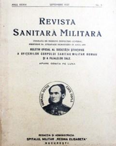 1897 Revista Sanitară Militară
