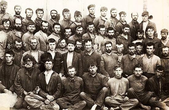 1924 Grup De Răsculați De La Tatarbunar