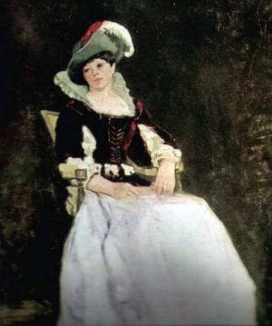 Costumed Model