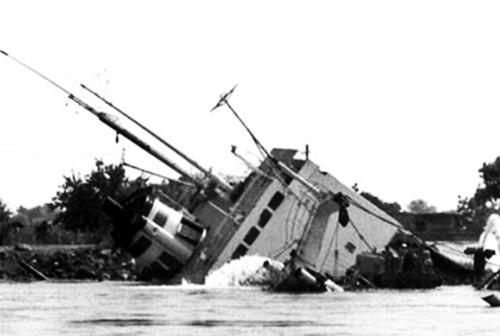 1991 Naufragiul Cargoului Rostok Pe Brațul Sulina