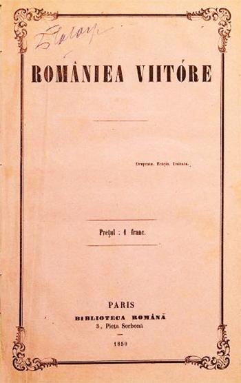 1850 România Viitoare