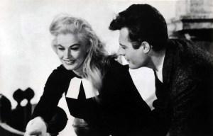 Anita Ekberg $ Marcello Mastroianni. La Dolce Vita (1960)-21