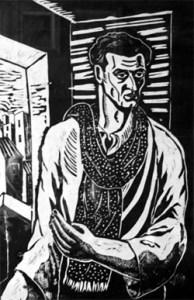 1912-1999 Vasile Dobrian. Autoportret