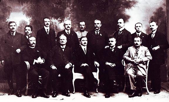 1918 Consiliul Naţional Al Unităţii Române, Paris