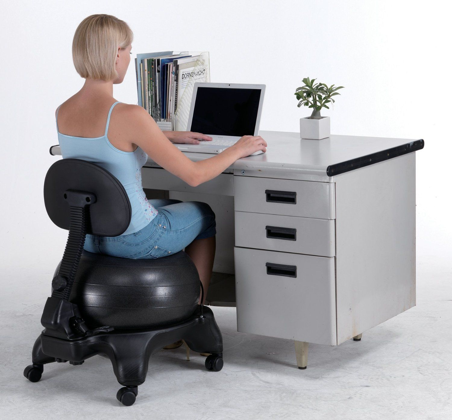 exercise ball office chair size swivel bath yoga chairs balance for stability guide and review