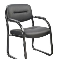 Brown Office Guest Chairs Gym Chair Total Workout Modern And Affordable For Lobby With Arms Guide