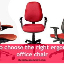 Ergonomic Chair Types Disposable Covers Canada How To Choose The Right Office Best Bungee Chairs Avoid All These Of Problems It S Essential You Have At Your That Tends Support Lower Back And Provides