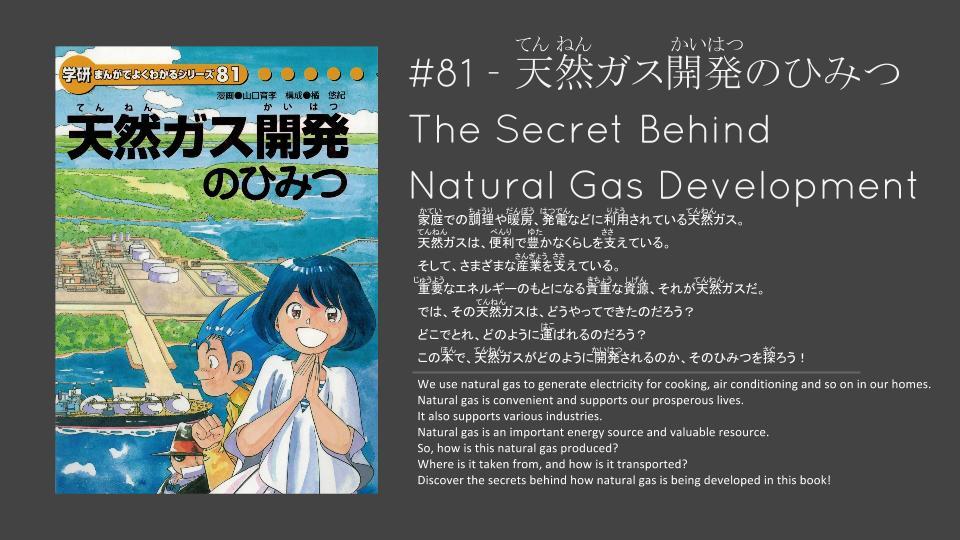 The secret behind natural gas development