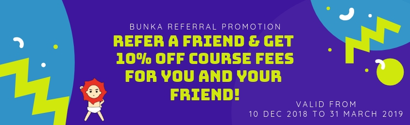 Bunka Referral Promotion