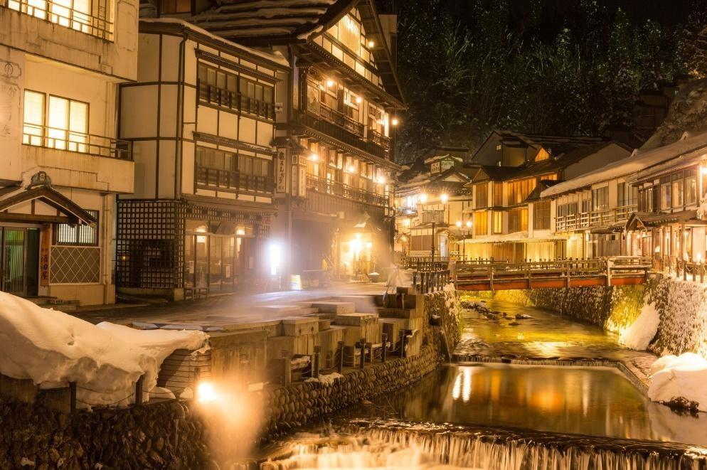 銀山温泉(ぎんざんおんせん) Level: Intermediate 1