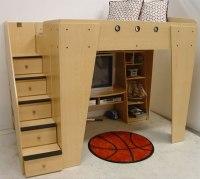Boys Loft Bed | Bill House Plans