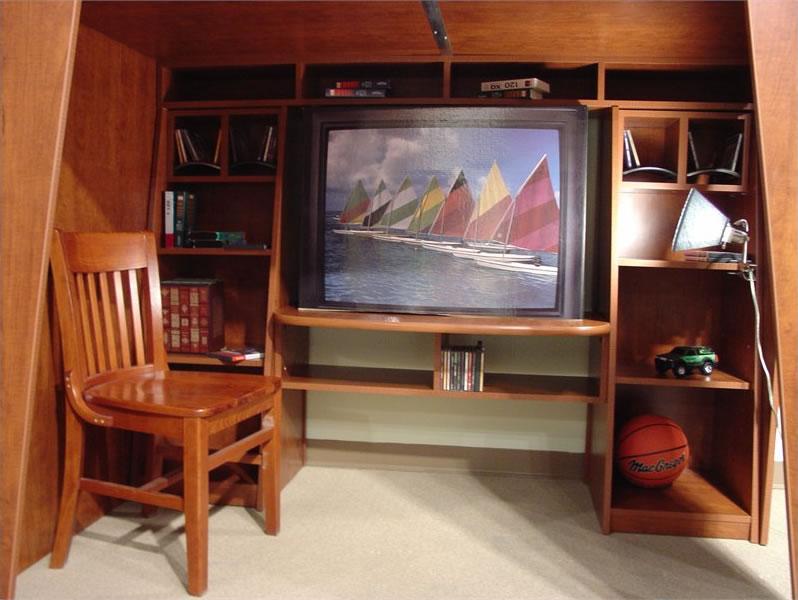 Berg Furniture Kids Headquarters Full Loft Bed with