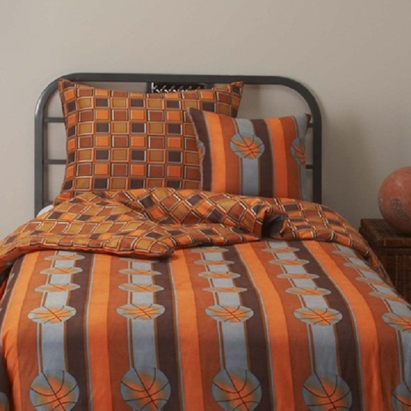 Basketball Bedding  Game Day Bunk Bed Cap Set